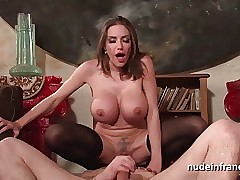hot mom cumshots - sexy woman video